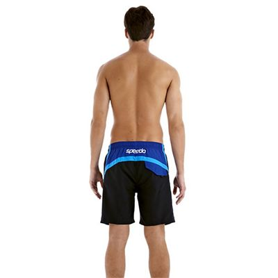 Speedo Finn Splice 18 Inch Mens Watershort - Navy - Baci View