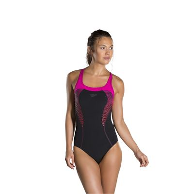 Speedo Fit Kickback Ladies Swimsuit-front
