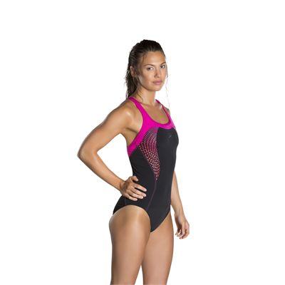 Speedo Fit Kickback Ladies Swimsuit-side