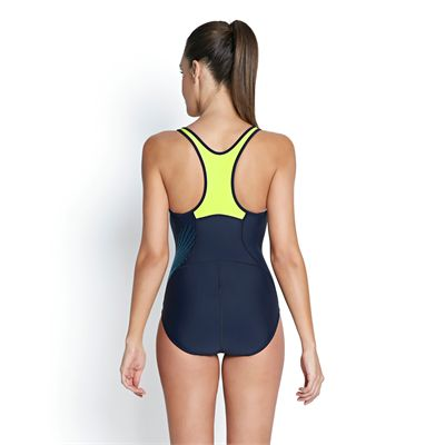 Speedo Fit Racerback Ladies Swimsuit - Back View