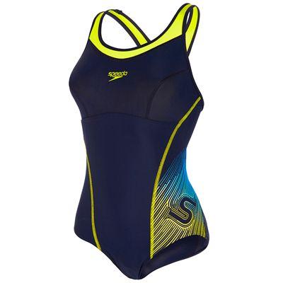 Speedo Fit Racerback Ladies Swimsuit