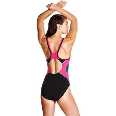 Speedo Fit Splice Muscleback Ladies Swimsuit AW17 - Back