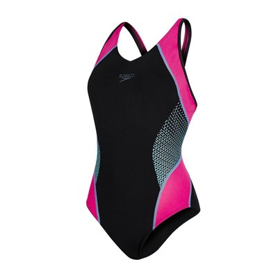 Speedo Fit Splice Muscleback Ladies Swimsuit AW17