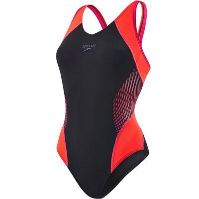 Speedo Fit Splice Muscleback Ladies Swimsuit
