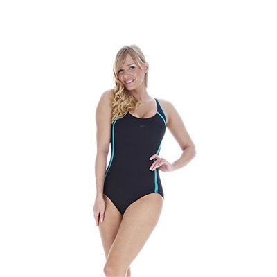 Speedo FluidGlide Printed 1 Piece Ladies Swimsuit