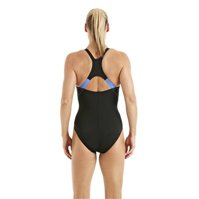 Speedo FocusBlade Kickback Ladies Swimsuit Black 2