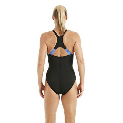 Speedo FocusBlade Kickback Ladies Swimsuit Black 2