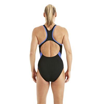 Speedo FocusFlux Medalist Ladies Swimsuit black 2