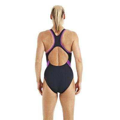 Speedo FocusFlux Medalist Ladies Swimsuit navy 2