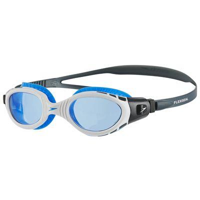 Speedo Futura Biofuse Flexiseal Swimming Goggles - Grey-Blue