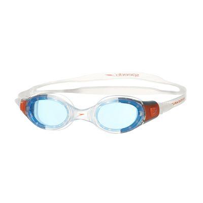 Speedo Futura BioFuse Junior Swimming Goggles-Blue-Orange