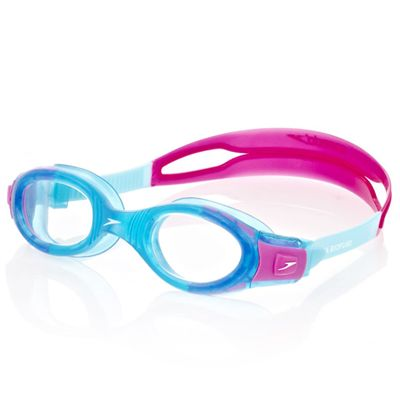 Speedo Futura BioFuse Junior Swimming Goggles - Blue and Pink