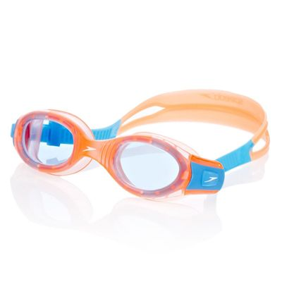Speedo Futura BioFuse Junior Swimming Goggles - Orange and Blue