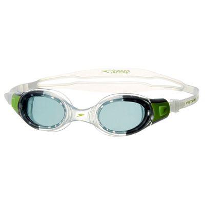 Speedo Futura BioFuse Junior Swimming Goggles - Green/Clear