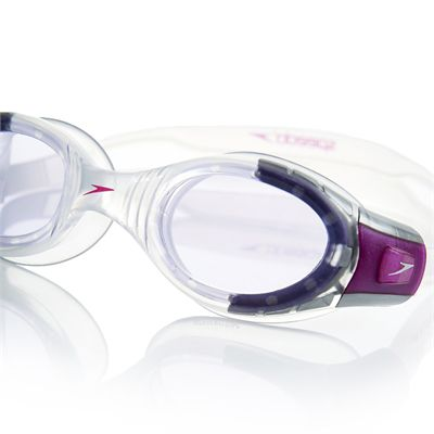 Speedo Futura BioFuse Junior Swimming Goggles - Purple Close View