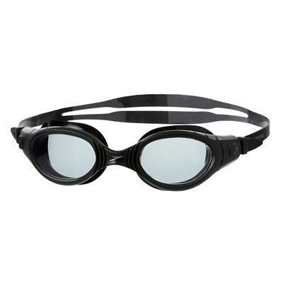 Speedo Futura BioFuse Swimming Goggles-Smoke-Black