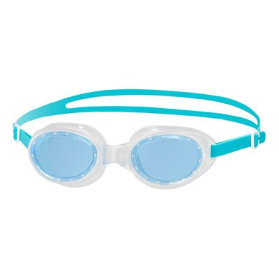 Speedo Futura Classic Female Swimming Goggles-Blue-Clear