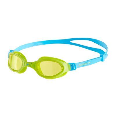 Speedo Futura Plus Junior Swimming Goggles - Green/Blue