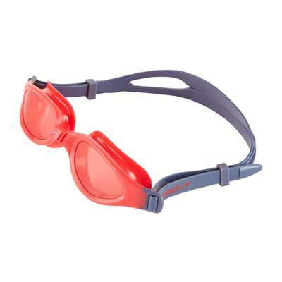 Speedo Futura Plus Junior Swimming Goggles - Grey/Red - Above