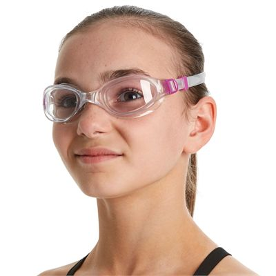 Speedo Futura Plus Junior Swimming Goggles - In Use1