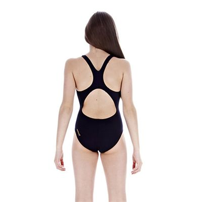 Speedo Girls FluidRise Placement Splashback Swimwear back