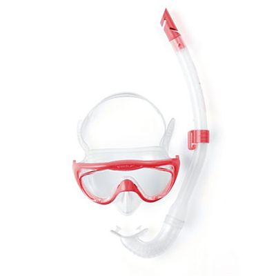 Speedo Glide Junior Snorkel Set Pink