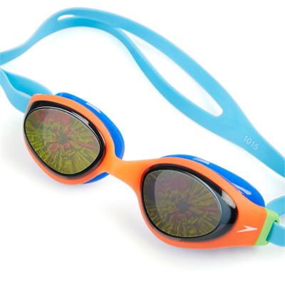 Speedo Holowonder Junior Swimming Goggles-Angled
