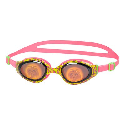 Speedo Holowonder Junior Swimming Goggles-Pink-Smoke