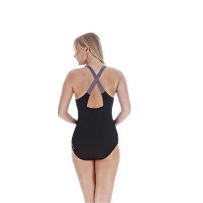 Speedo Hydrafit 1 Piece Ladies Swimsuit back