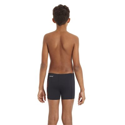 Speedo HydroTurn Allover Panel Boys Aquashort - Back View