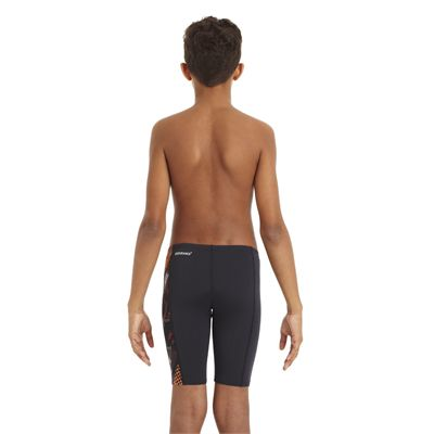 Speedo HydroTurn Allover Panel Boys Jammer - Back View