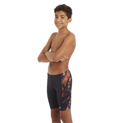 Speedo HydroTurn Allover Panel Boys Jammer