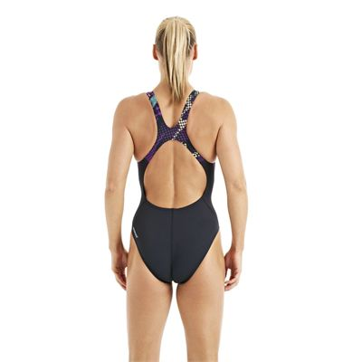 Speedo HydroTurn Placement Recordbreaker Ladies Swimsuit navy 5