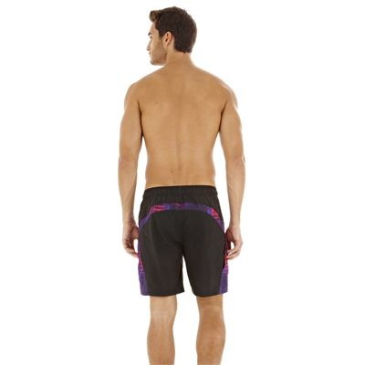 Speedo Infinity Pool Splice Check 18 Watershort Back