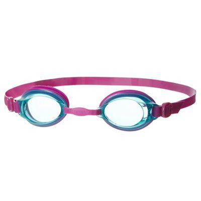 Speedo Jet Junior Swimming Goggles - Red/Smoke