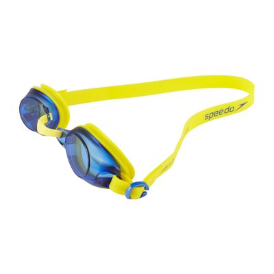 Speedo Jet Junior Swimming Goggles SS19 - Yellow - Angled