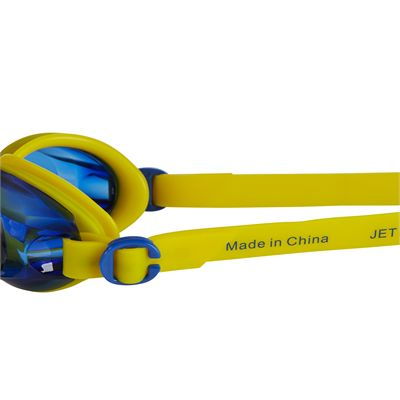 Speedo Jet Junior Swimming Goggles SS19 - Yellow - Side