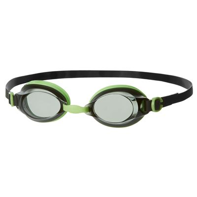 Speedo Jet Swimming Goggles - Green/Smoke