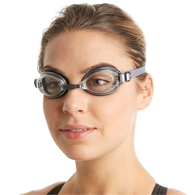 Speedo Jet Swimming Goggles - Navy - In Use2