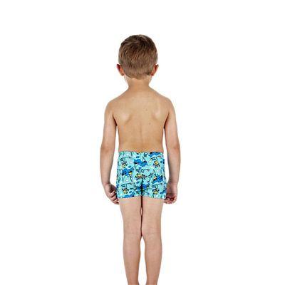 Speedo Jetspark Allover Infant Boys Aquashorts Back