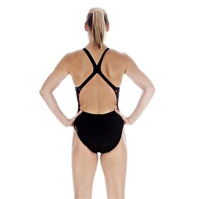 Speedo Ladies FluidBlade Placement Powerback Swimsuit Back