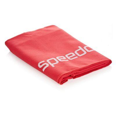 Speedo Large Deluxe Towel Red