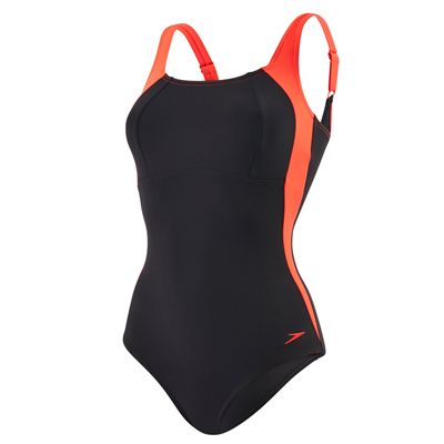 Speedo LunaLustre 1 Piece Ladies Swimsuit