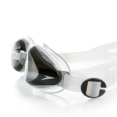 Speedo Mariner Mirror Junior Swimming Goggles Silver Close View