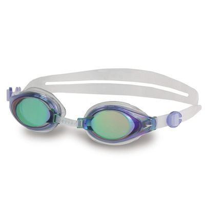 Speedo Mariner Mirror Swimming Goggles Blue Clear