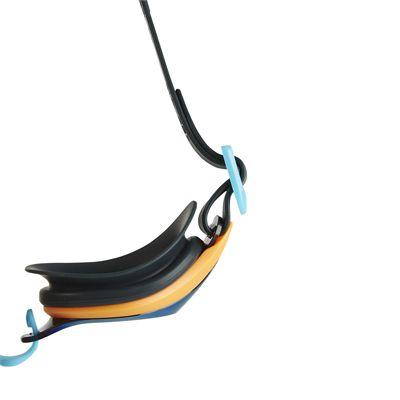Speedo Mariner Supreme Mirror Junior Swimming Goggles - Black - Abouve