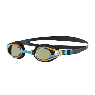 Speedo Mariner Supreme Mirror Junior Swimming Goggles - Black