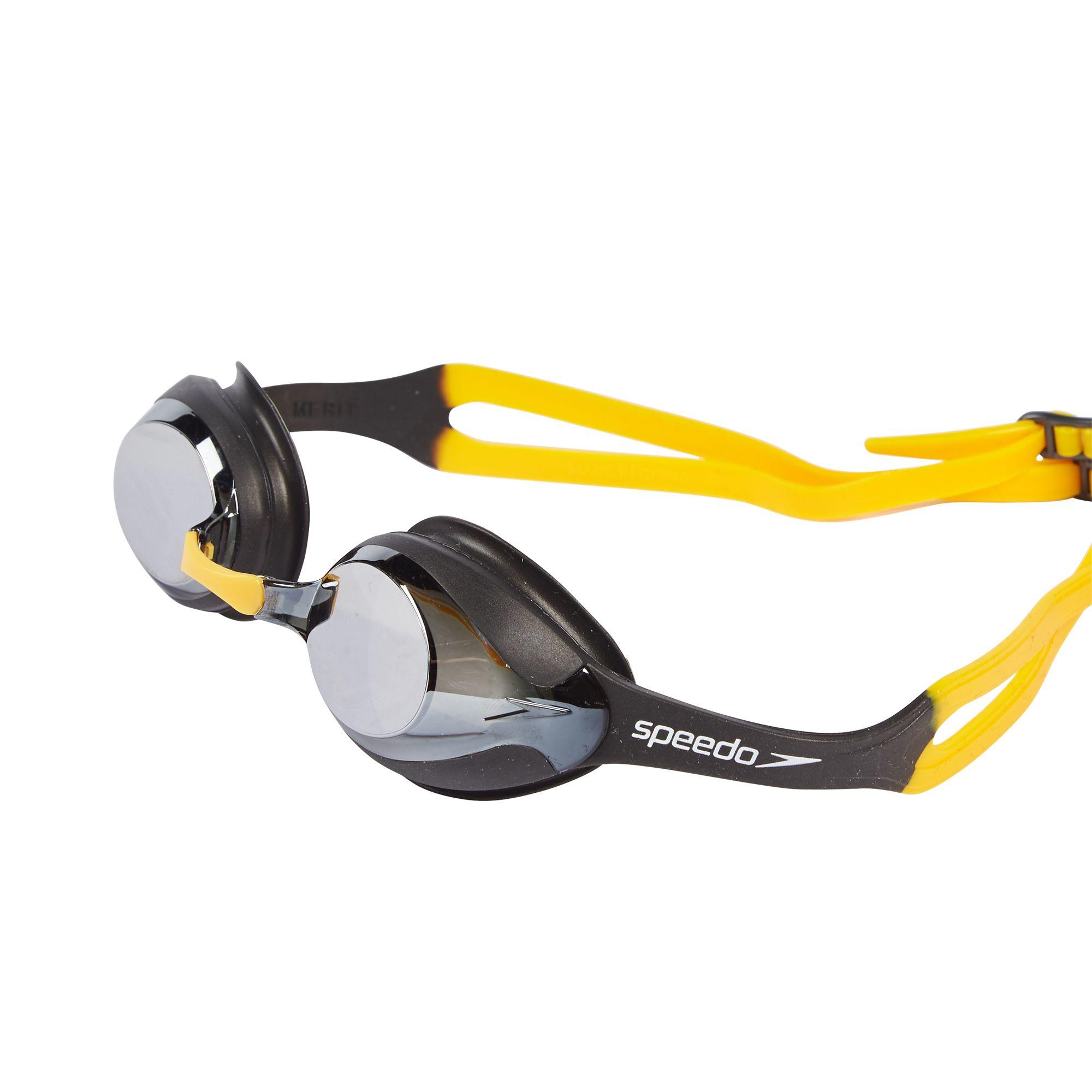 how to put strap on speedo goggles