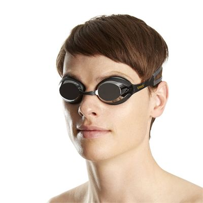 Speedo Merit Mirror Goggles - In Use