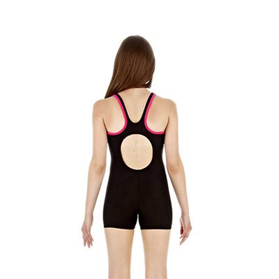 Speedo Monogram Girls Legsuit Back